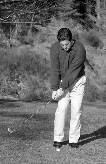 Chipping Backswing