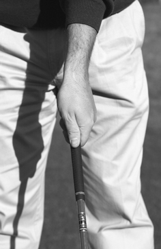 Good Top Hand Grip for Righty