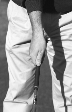 Good Top Hand Grip for a Lefty