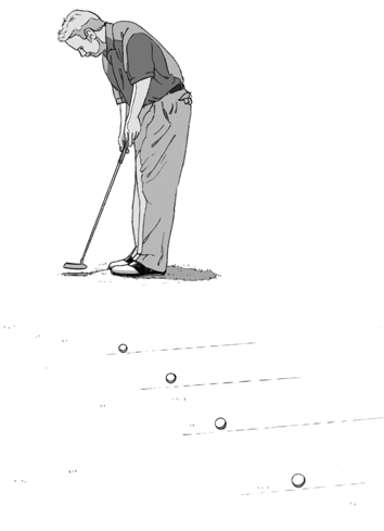 Putting Distance Drill