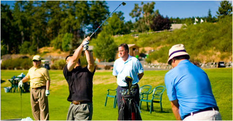 mens golf lessons in victoria